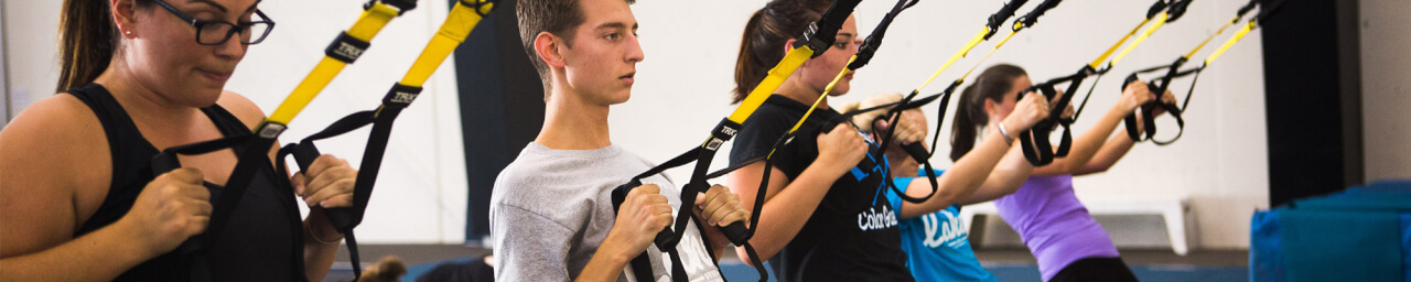 Reserve a TRX Strap or Spin Bike for Group Exercise classes!